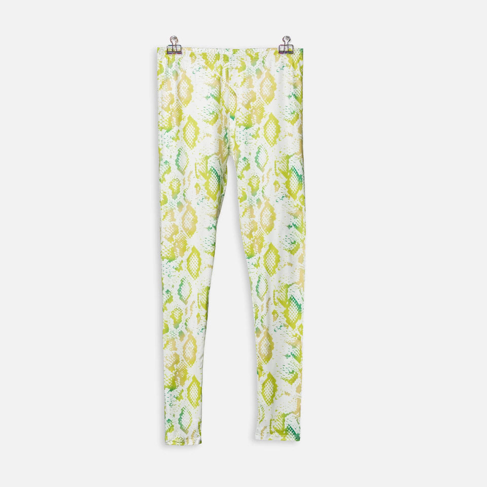 Legging Yellow Snake