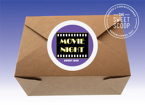 movie night sweet box