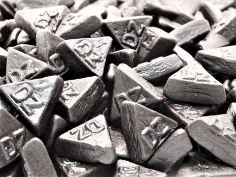 double salt liquorice triangles