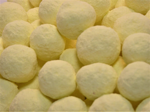 dusted lemon bon bons