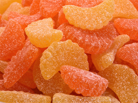orange & lemons jelly sweets