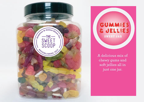gummies & jellies sweet jar