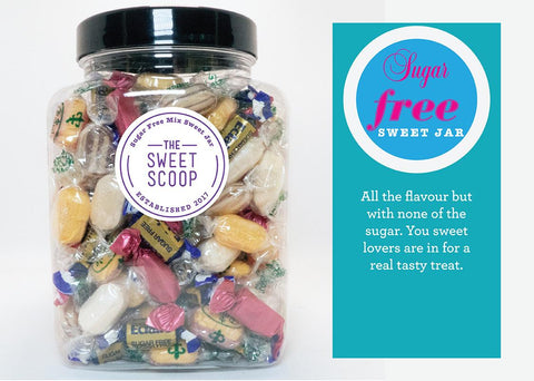 sugar free selection sweet jar