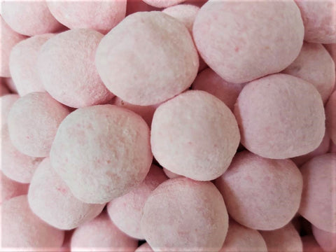 dusted strawberry bon bons
