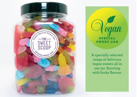 vegan special sweet jar