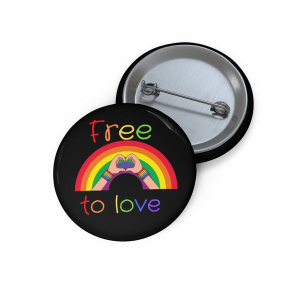 Free To Love - Jacket Button