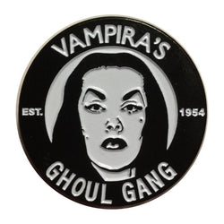 Official Licensed Vampira Ghoul Gang Enamel Pin - Darkest Hour