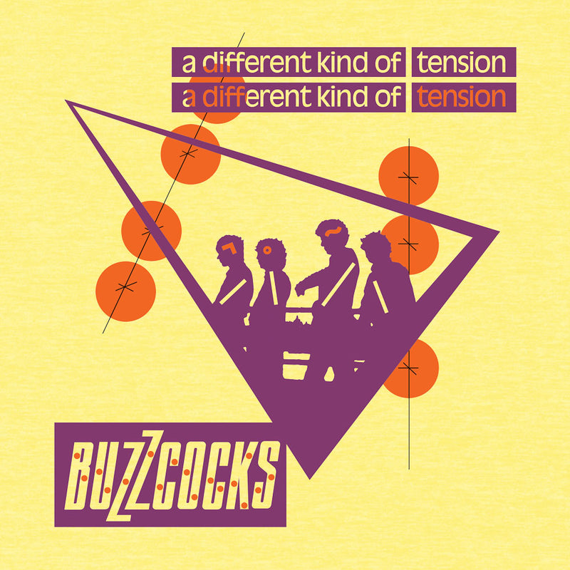 Buzzcocks Tension fitted jersey tee - Darkest Hour Apparel