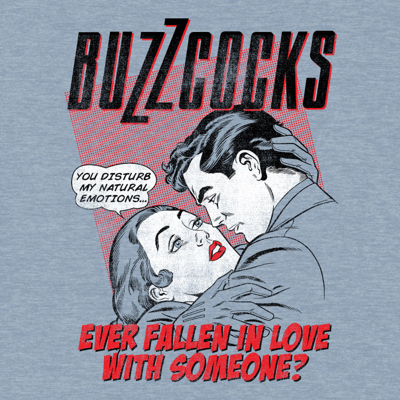 Buzzcocks Fallen In Love fitted jersey tee