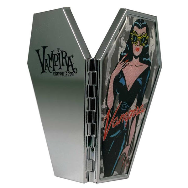 Vampira Coffin Mirror Compact - Darkest Hour
