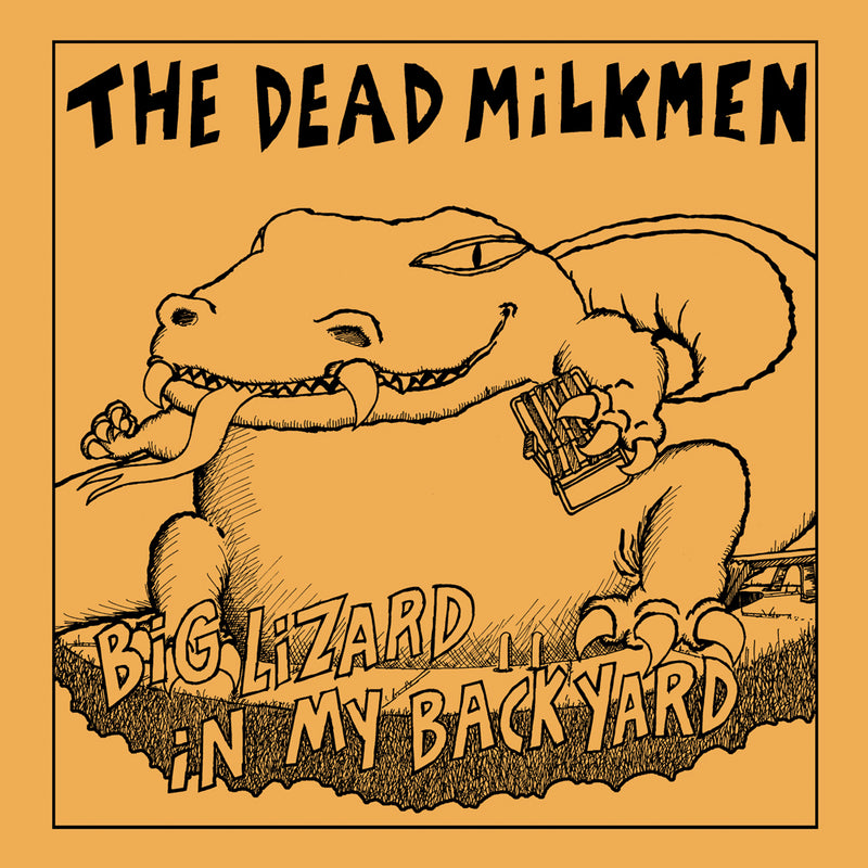 Dead Milkmen Big Lizard fitted jersey tee - Darkest Hour Apparel