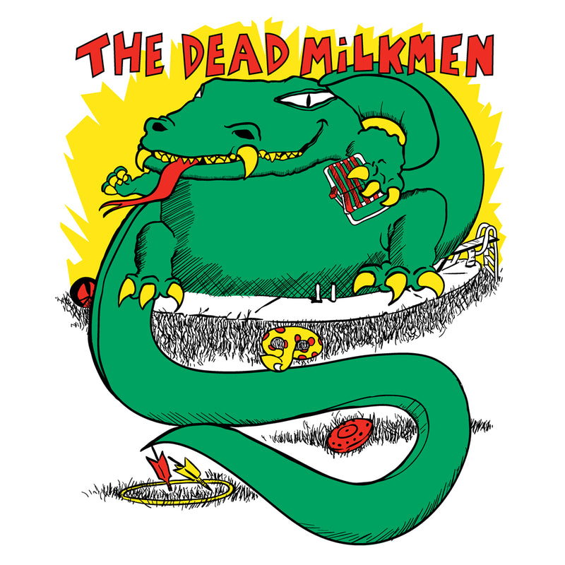 Dead Milkmen Big Lizard In My Backyard adult tee - Darkest Hour Apparel