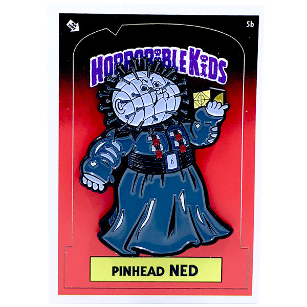 Horrorible Kids - Pinhead Ned - Limited Edition Enamel Pin