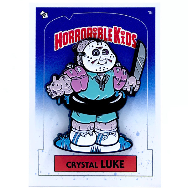 Horrorible Kids - Crystal Luke- Limited Edition Enamel Pin