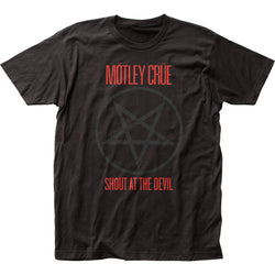 Mötley Crüe Shout At The Devil fitted jersey tee