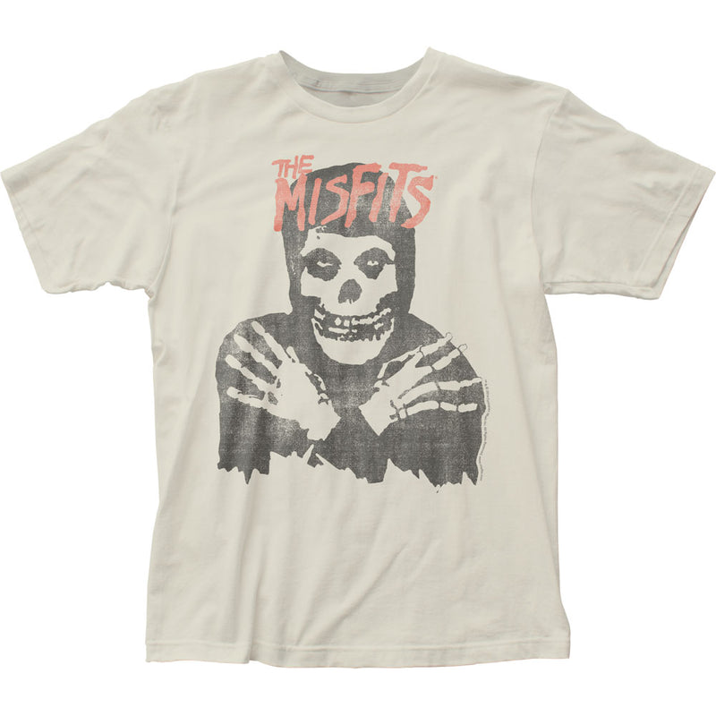 Misfits Classic Skull (Distressed) fitted jersey tee - Darkest Hour Apparel