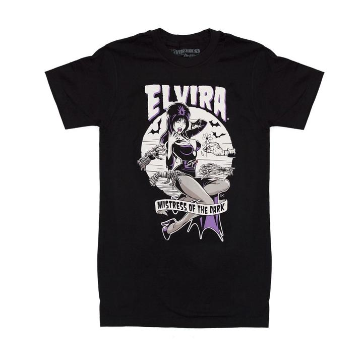 ELVIRA MONSTER HANDS T-SHIRT