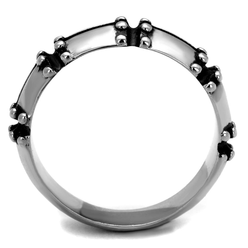 Stainless Steel Barred Ring