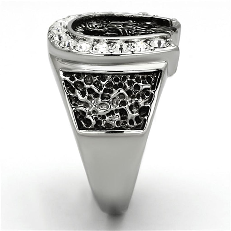 Stainless Steel Lucky Ring