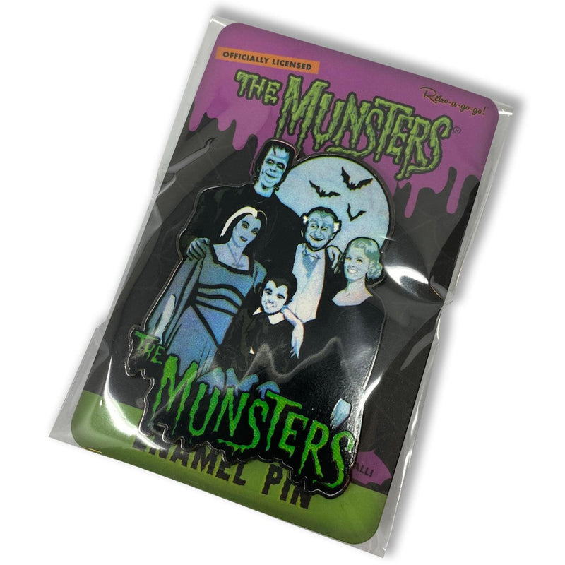 The Munsters Family Collectable - Enamel Pin