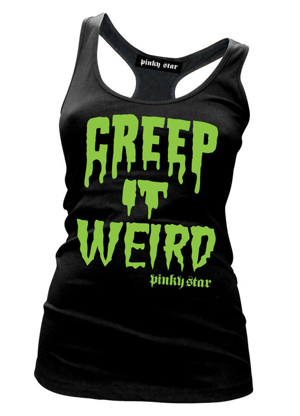 Creep It Weird - Razerback Tank - Darkest Hour