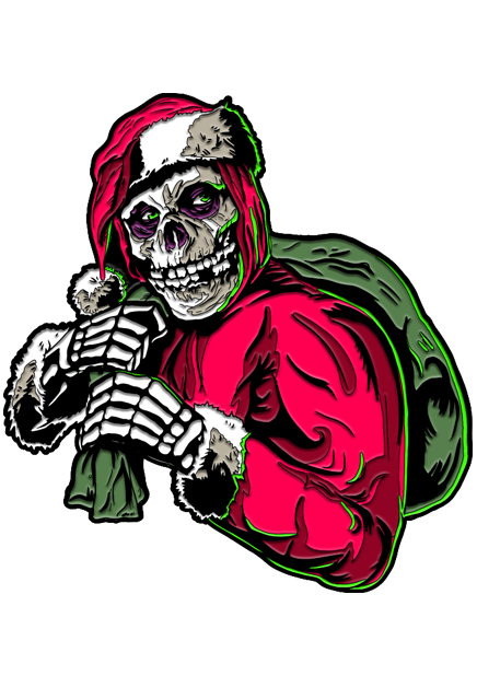 Misfits Holiday Fiend Pin