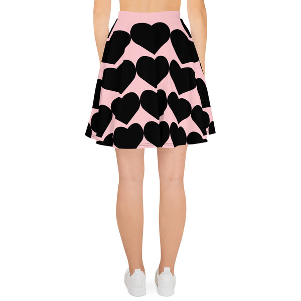 Heart Breaker- Skater Skirt