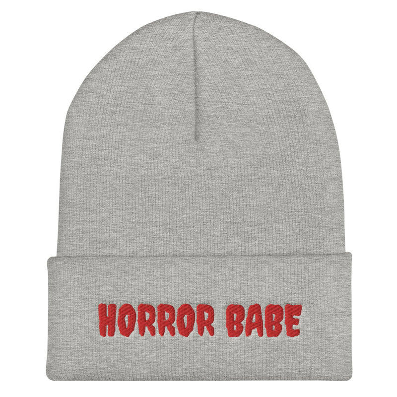 Horror Babe - Cuffed Beanie - Darkest Hour Apparel