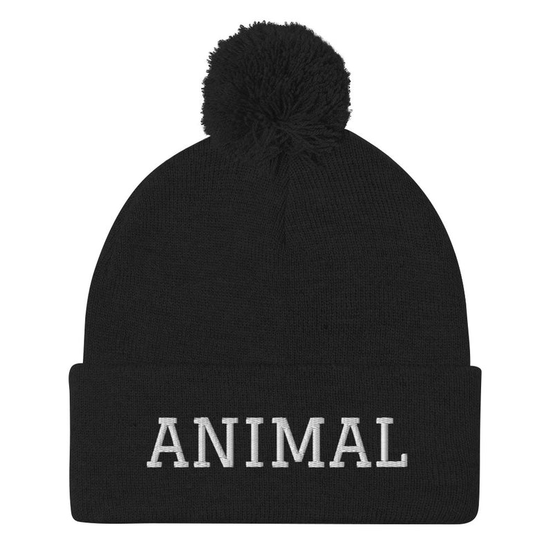 ANIMAL - Pom-Pom Beanie - Darkest Hour Apparel