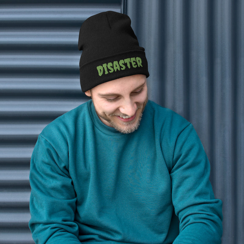Disaster - Embroidered Beanie