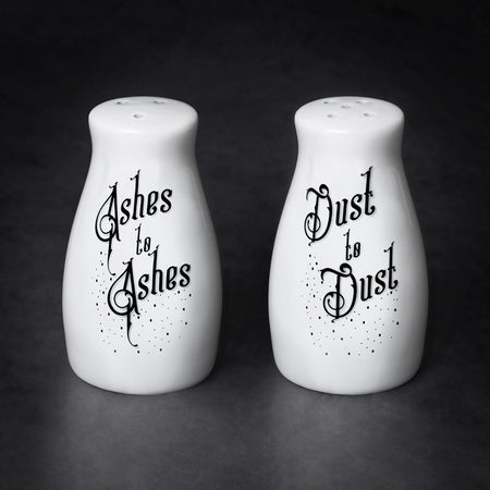 Ashes to Ashes/Dust to Dust Salt & Pepper Shaker Set - Darkest Hour Apparel