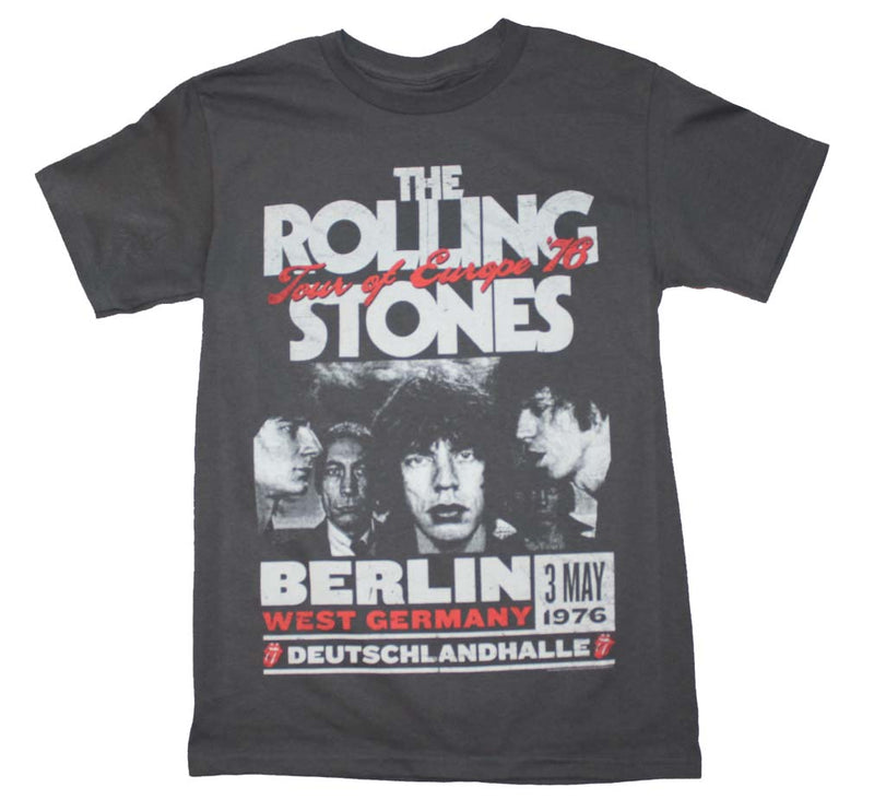 Rolling Stones Europe 76 Tour T-Shirt - Darkest Hour Apparel
