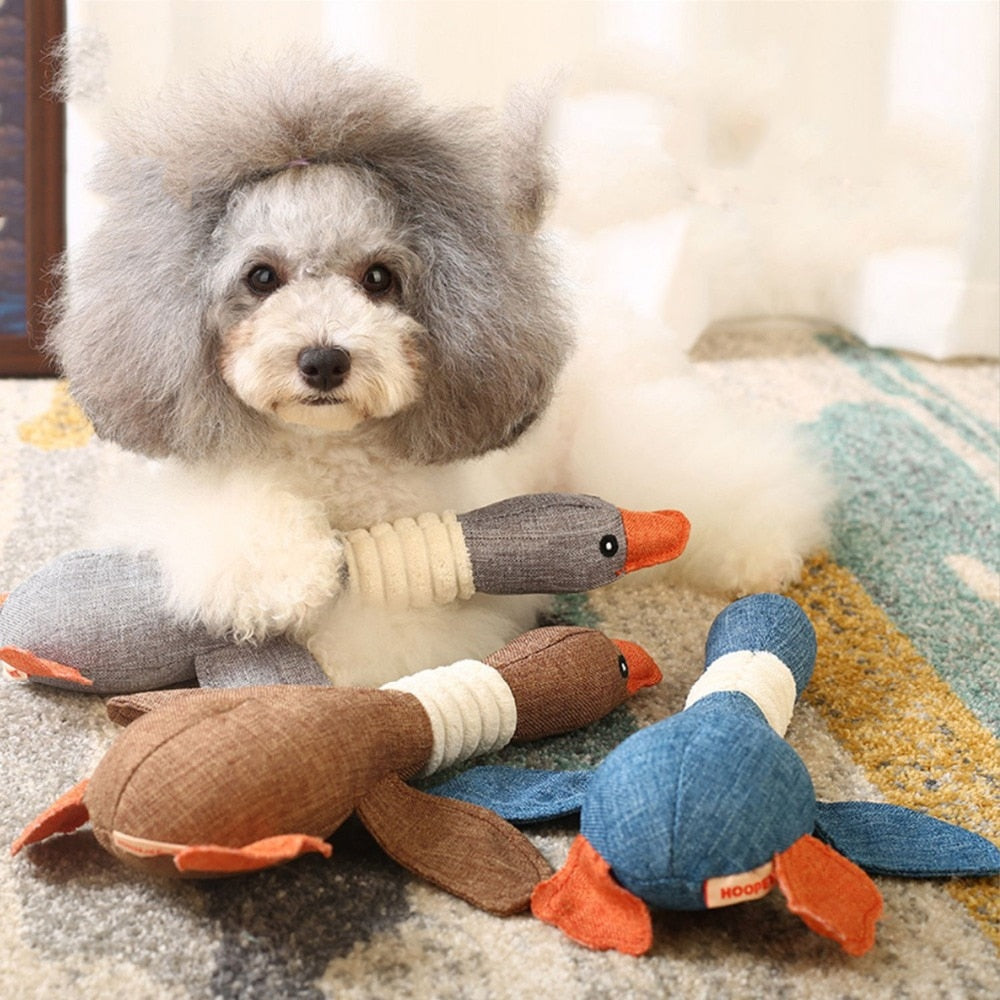 Dog Duck Toy