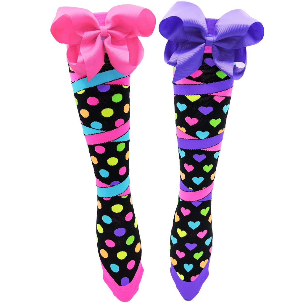 Madmia - Bow-tiful Knee High Socks - jemandashop