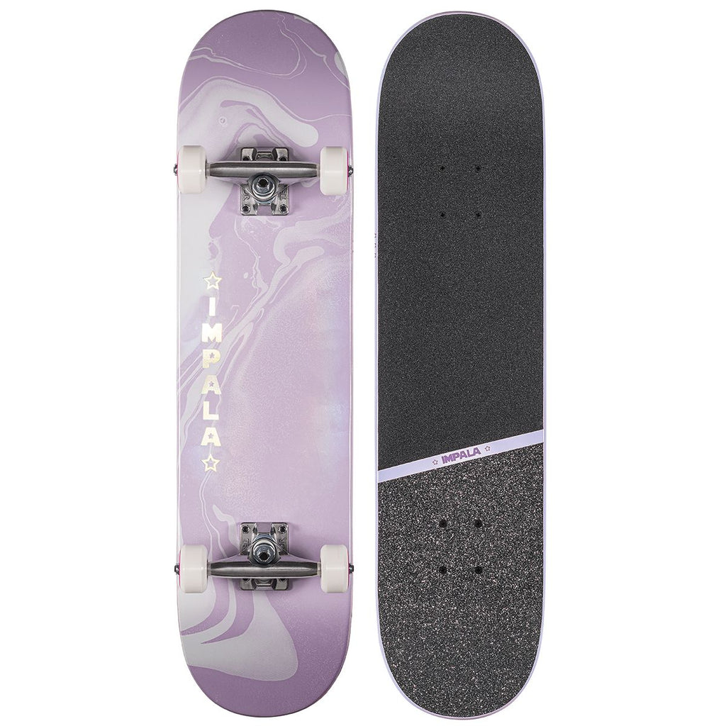 "Impala Cosmos Skateboard - Purple 7.75"" - jemandashop"