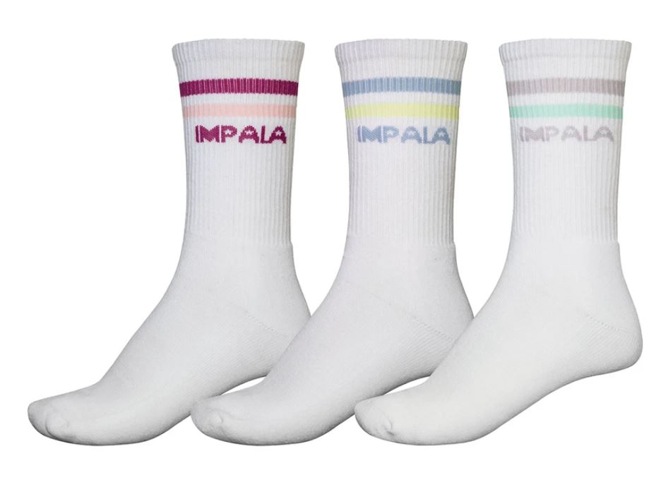 Shop Jemanda Impala Pastel 3 pack socks USA