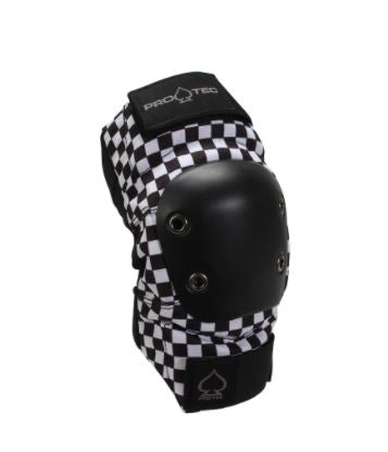 Protec Black Checker Elbow Pads - jemandashop
