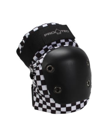 Protect Black Checker Knee Pads - jemandashop