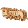 maquette bois locomotive
