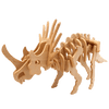 puzzle 3d bois styracosaurus