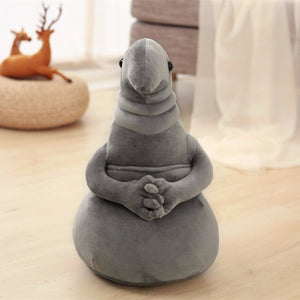 1pc 20cm Waiting statue Meme Tubby Gray Blob Plush Toy Soft Stuffed monster Doll Homunculus Loxodontus Creative Nice Cute Gift