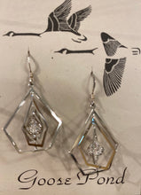 Load image into Gallery viewer, Goose Pond Assorted Acid Etched Silver Earrings