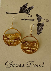 Silver Bay Earrings by Goose Pond