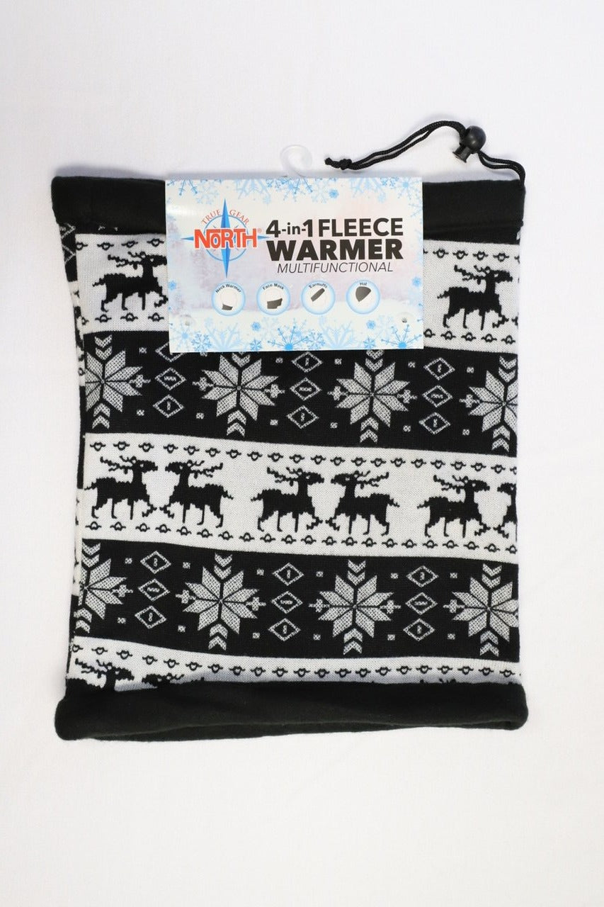 4 in 1 Fleece Warmer