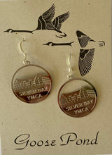 Load image into Gallery viewer, Silver Bay Earrings by Goose Pond