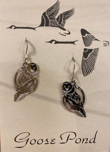 Goose Pond Assorted Acid Etched Silver Earrings