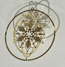 Load image into Gallery viewer, Gilded Detailed Acid Etched Christmas Tree Ornaments