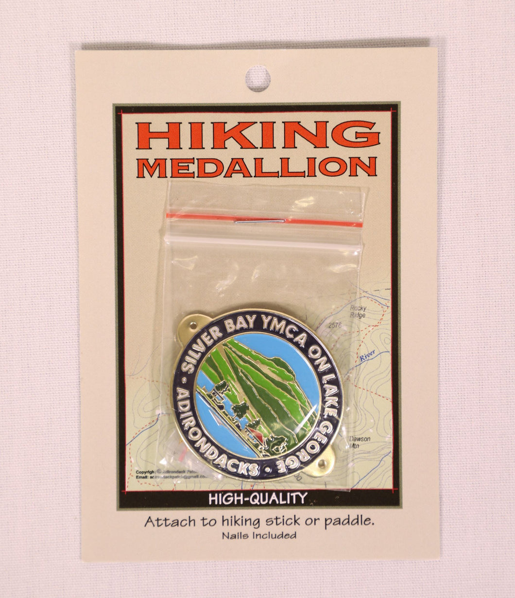 Silver Bay Hiking Medallion