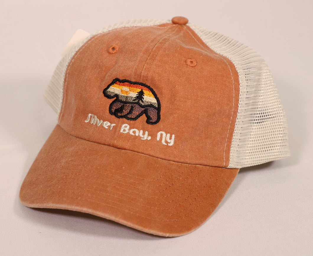 Silver Bay Aura Bear Hat