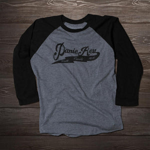 Baseball 3/4 Sleeve Black